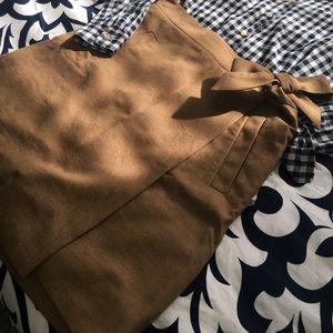 J Crew Wrap Skirt